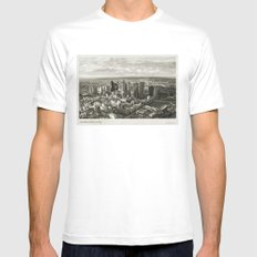 Melbourne City White Mens Fitted Tee MEDIUM
