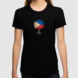 Vintage Tree of Life with Flag of Philippines T-shirt