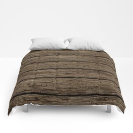 rough wooden planks Comforters