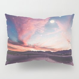 Moon gazing Pillow Sham