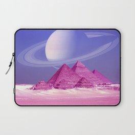 Pyramids, Saturn & the Desert Laptop Sleeve
