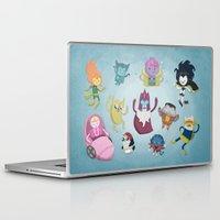 nightcrawler Laptop & iPad Skins featuring X-Men Adventures in The Land Of Ooo. by MattBlanksArt