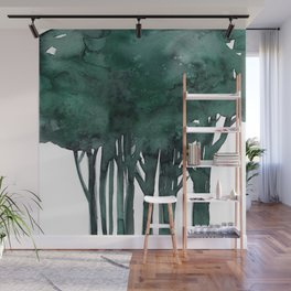 Tree Impressions No.1D by Kathy Morton Stanion Wall Mural
