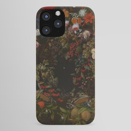 "Johnny van Haeften ""A garland of flowers and fruit"" iPhone Case"