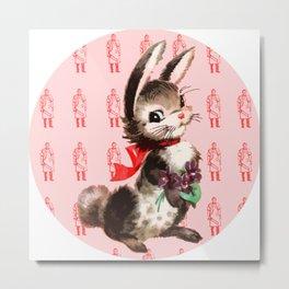 Bunny Meat Metal Print