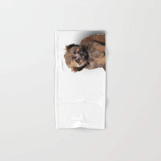Cocoa, the puppy Hand & Bath Towel