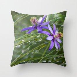 Meadow Dew Throw Pillow