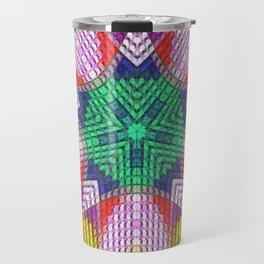 Golden Texture Travel Mug