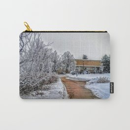 snowy path Carry-All Pouch
