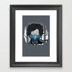Ghost? Framed Art Print