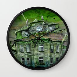 The Ghosthouse Wall Clock