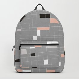 Square abstract Backpack