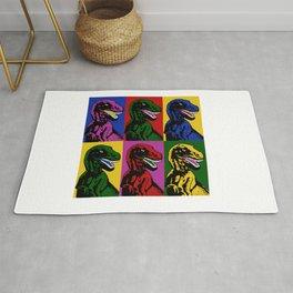 Dinosaur Pop Art Rug