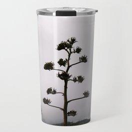 Lone Tree on Foggy Mountain Top Travel Mug