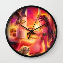 {Seven Sins-Wrath} Isis the Queen Wall Clock