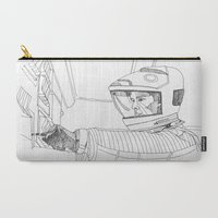 2001 Carry-All Pouches featuring 2001 A Space Odyssey by Ah Shun
