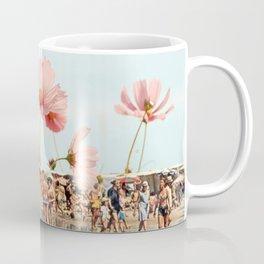 Vintage Flower Beach Coffee Mug