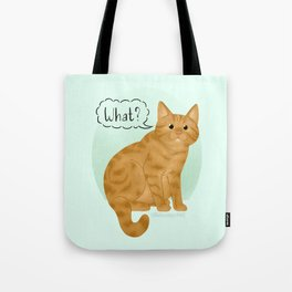 What's New Kitty Cat Tote Bag