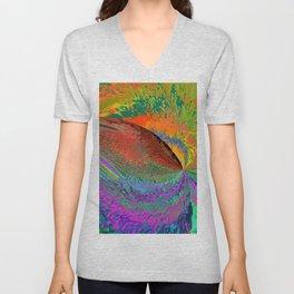 A Splash Of Color Unisex V-Neck