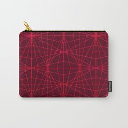 ELEGANT DARK RED GRAPHIC DESIGN Carry-All Pouch