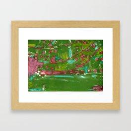 Japenese Gardens Framed Art Print