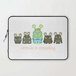 Attitude Is Everything Laptop Sleeve
