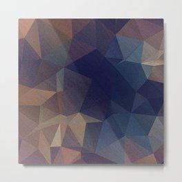 Abstract polygonal Metal Print
