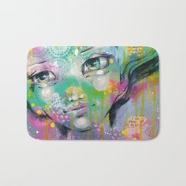 Daydreaming Away Bath Mat