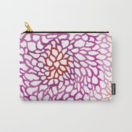 Pink abstract design Carry-All Pouch