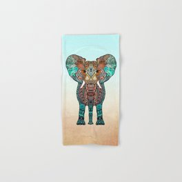 BOHO SUMMER ELEPHANT Hand & Bath Towel