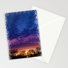 Purple Sky Sunset (1) - Jeronimo Rubio Photography 2016 (All Over Print) Stationery Cards