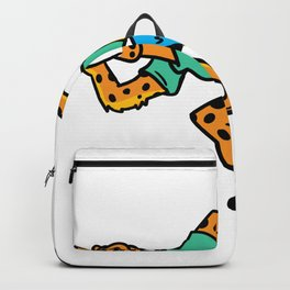 Fitness leopard Backpack