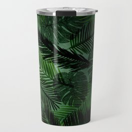 Green Foliage Travel Mug
