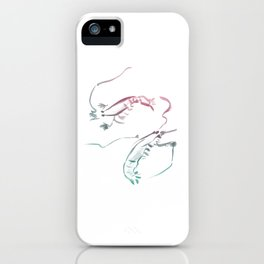 Shrimps dance iPhone Case