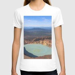Stratovolcano Maly Semyachik, Kamchatka T-shirt