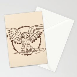 Mystical Owl Stationery Cards