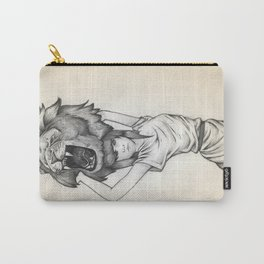 The Lion's Roar Carry-All Pouch