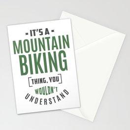 Mountain Biking Thing Stationery Cards