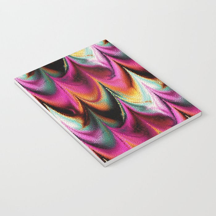 Abstract Feather organic pattern Notebook