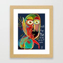 Keep the funk alive Framed Art Print