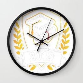 Class-of-2019---Class-of-2019-Graduation-T-Shirt Wall Clock