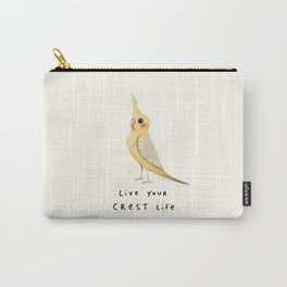 Live Your Crest Life Carry-All Pouch