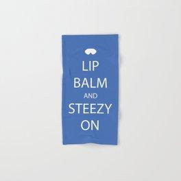Lip Balm and Steezy On Hand & Bath Towel