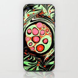 Psychedelic Circle iPhone Skin