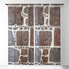 Stone wall colour 3 Blackout Curtain
