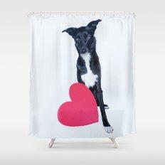 Little Valentine Shower Curtain