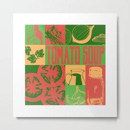 Tomato Soup Metal Print