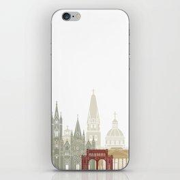 Guadalajara skyline poster iPhone Skin