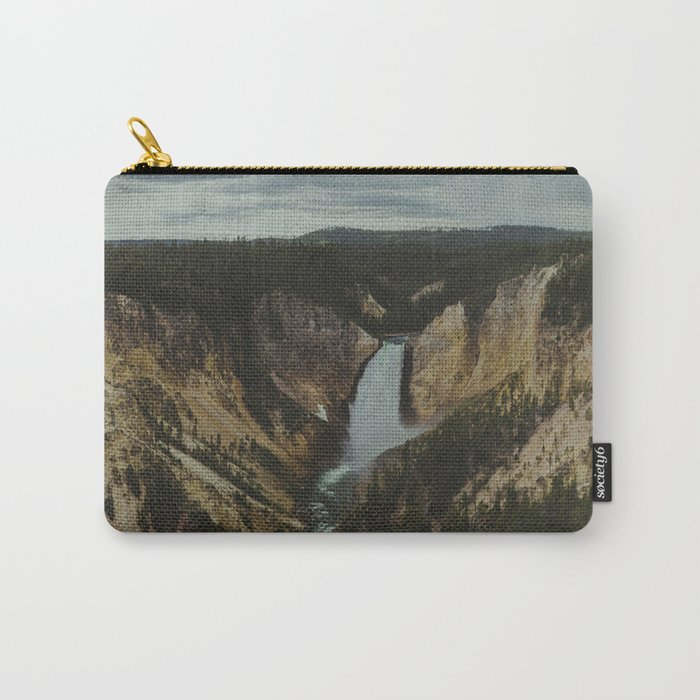 Yellowstone National Park Falls Carry-All Pouch