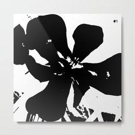 BLACKY Metal Print